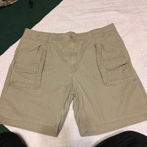 Cabela's cargo shorts.